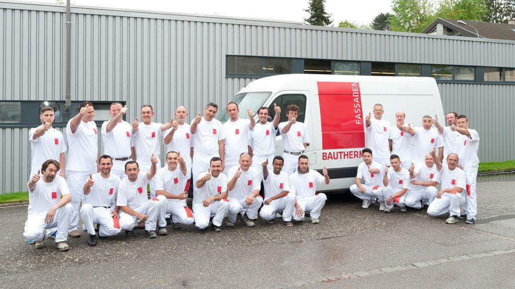 Bautherm AG Team Münchenstein – die Fassadenprofis