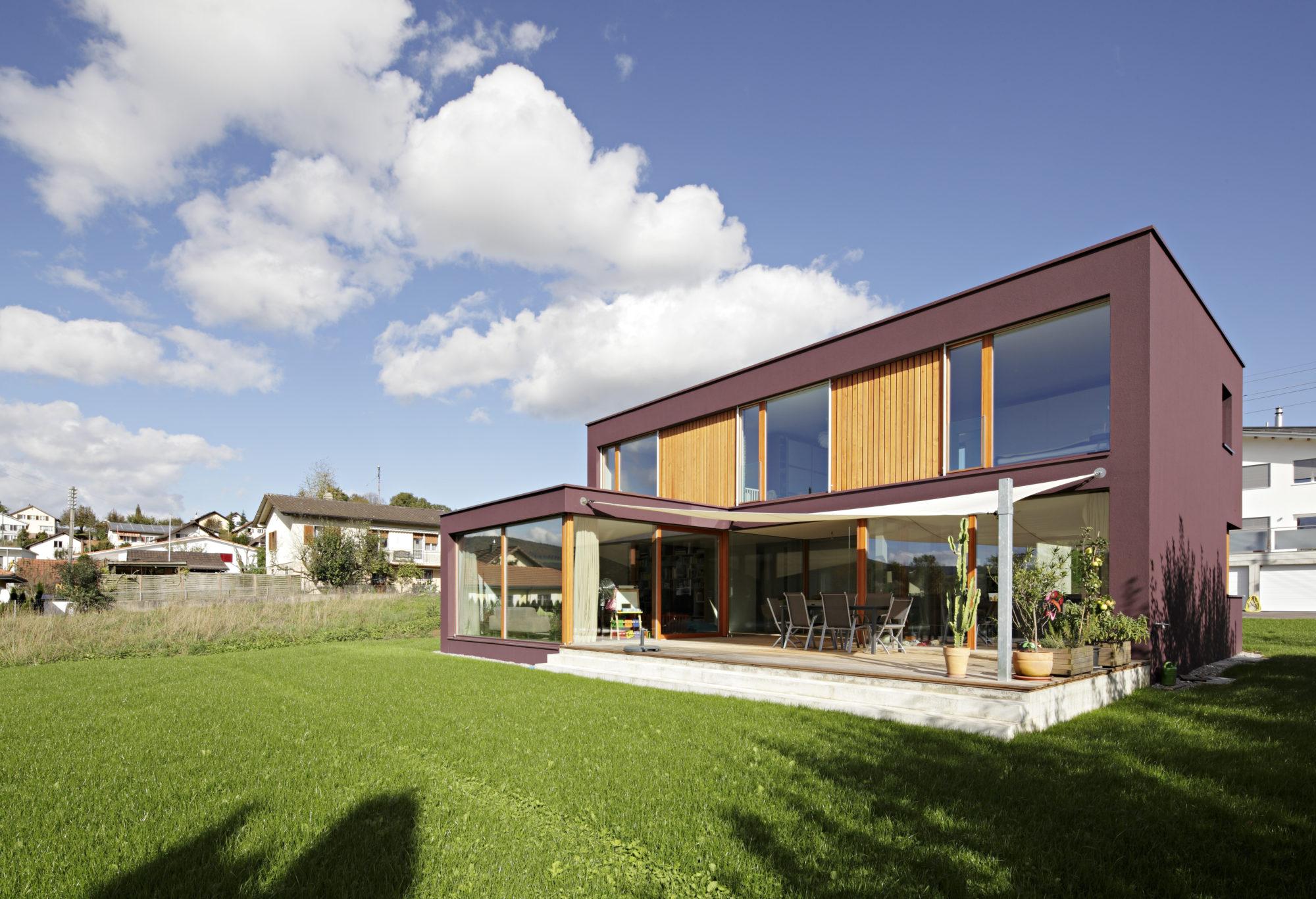 Neubau Einfamilienhaus, Brislach