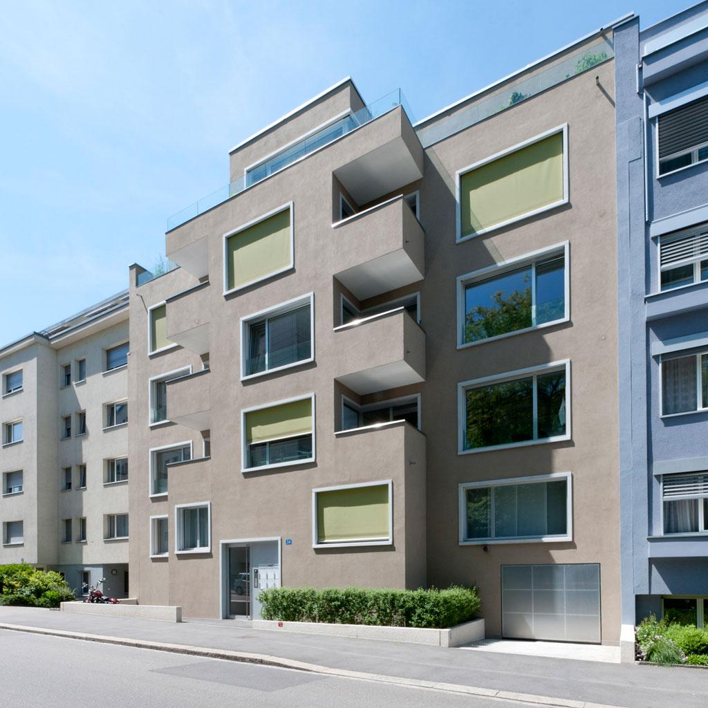 Geschäfts- und Wohnhaus, Basel