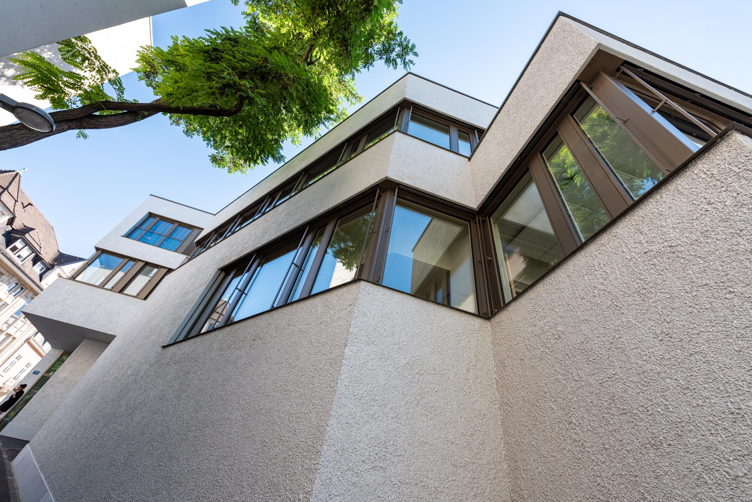 Geschäftshaus Basel Sanierung