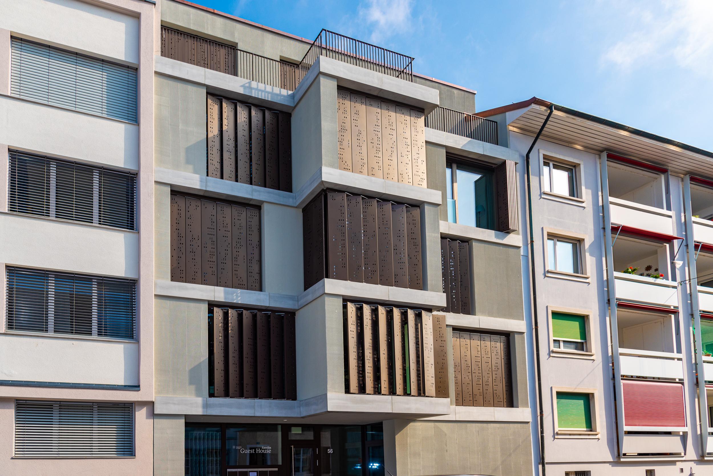 Neubau Gästehaus Basel