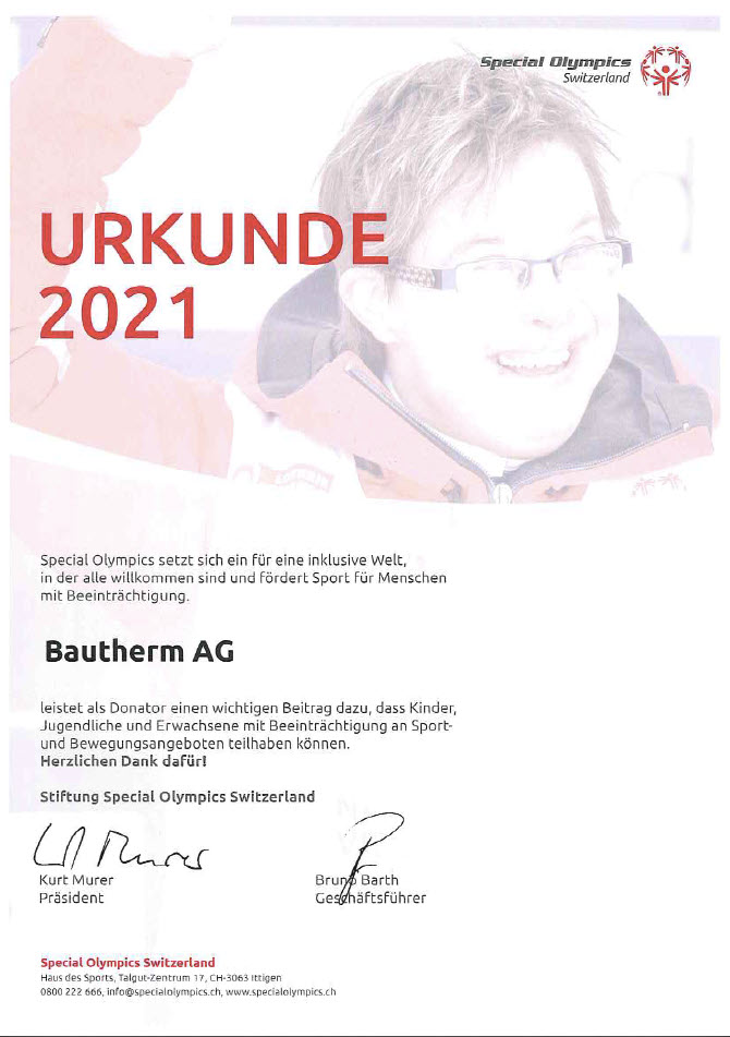 special-olympics-2021 Urkunde